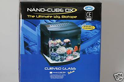 Jbj 12 Gallon Nano Cube Dx Fish Tank