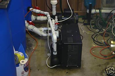 New 1 2 hp chiller reef fish tank aquarium for Fish tank cooler