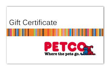 Petco Gift Certificate